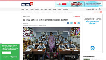 30 NDMC schools to impart education through Extramarks Smart Classes